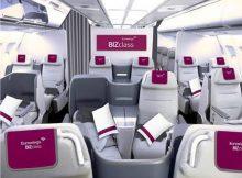 Künftige BizClass bei Eurowings (© Lufthansa)