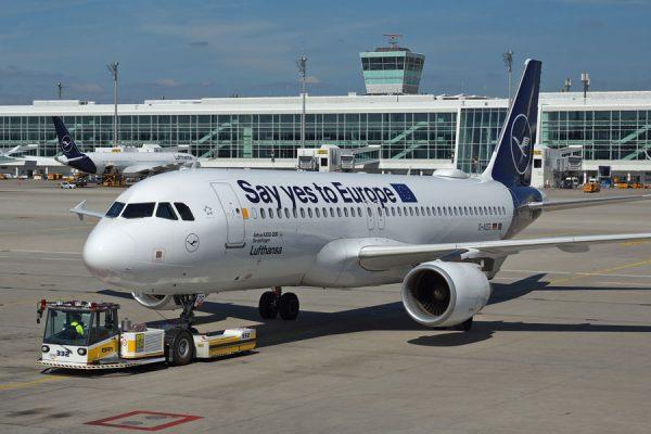 Lufthansa Europaflieger Airbus A320 AIZG (Foto: MUC Airport)